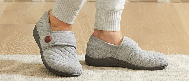 Comfortable Supportive Ladies Slippers Vionic Uk