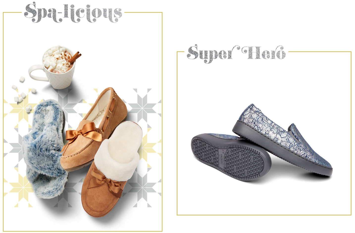 Spa-licious Wild Child women's shoes and slippers